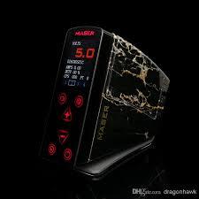 maser digital tattoo power supply led display tattoo power box