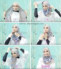 tutorial hijab paris zaskia 85 foto tutorial jilbab paris zaskia sungkar untuk lebaran