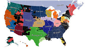 Map Of Metro Detroit by Map Shows The Detroit Tigers Own The Hearts Of Almost All Of Michigan