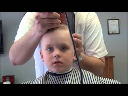 youtube young boys getting haircuts little boys first flat top youtube