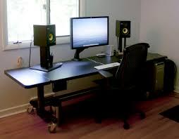 Best Computer Desk Setup Stylish Pc Desk Setup Coolest Home Design Inspiration With Setup