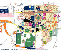 Georgia Southern Campus Map Travel And Parking Cues For Your Trip To The Plains This Weekend