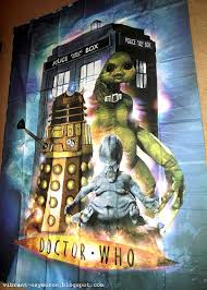 Dr Who Duvet Vibrant Oxymoron An Obsessive Society Sleeping With Daleks A