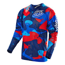 blue motocross gear motocross jerseys u0026 moto gear troy lee designs