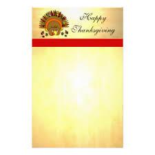 thanksgiving turkey stationery zazzle