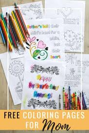 mother u0027s day coloring pages simply september