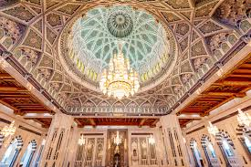 Sultan Qaboos Grand Mosque Chandelier Beautiful Mosques In The Middle East Xperienz Travel And Holidays