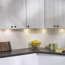 fasade kitchen backsplash panels fasade rings gloss white 18 square foot backsplash kit kitchen