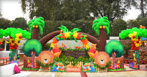 jungle themed birthday party tulipsevent best jungle safari zoo themed birthday party planner