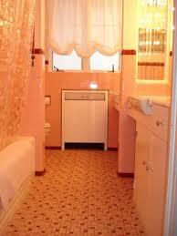 Retro Bathroom Flooring 6 Colorful 1950 Vintage Bathrooms The Comer House In Gallatin