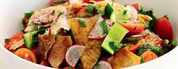 cuisine jordanienne cuisine jordanienne 2 salade fattouche jpg ohhkitchen com