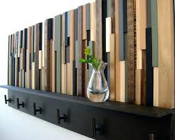 decorative wall rack with hooks coat rack laundry mud room coat