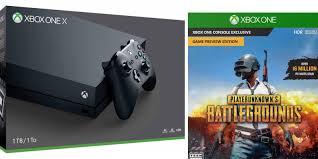 player unknown battlegrounds xbox one x bundle xbox one x playerunknown s battlegrounds 50 credit for 500