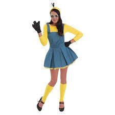 Minion Costumes Halloween Minion Jumper Women Halloween Costume Large Ebay