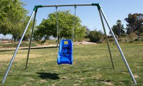 handicap swing metal swing frames swing