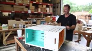 Wine Crate Coffee Table Diy by Johnny Kentucky Makes A Pinwheel Crate Coffee Table Youtube