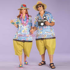 ironic halloween costumes hawaiian tropical tourist couples costume kaylando yes u2026 but no
