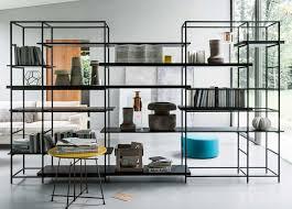 Oak Room Divider Shelves Room Divider Bookcase West Elm Doherty House For Dividing Shelves