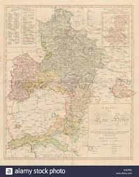 Kassel Germany Map by Charte Von Kur Hessen U0027 By Christoph Fembo Kurhessen Germany 1817