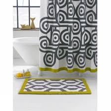 Jonathan Adler Curtains Designs Jonathan Adler Santorini Gray And White Shower Curtain Curtains