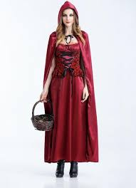 2017 halloween vampire costume little red riding hood and red