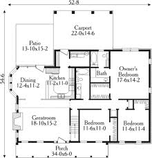 Country Style Open Floor Plans 126 Best House Plans Images On Pinterest House Floor Plans
