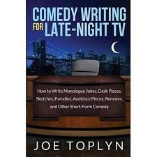 booktopia comedy writing for late night tv how to write