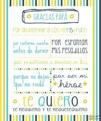 quotes en espanol para mi esposo imprimibles gratis para el día de padre en español todo bonito