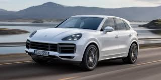 2017 porsche cayenne gts blue porsche cayenne turbo revealed here from mid 2018