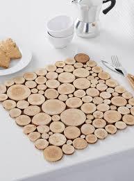 mat en bois log slice floor mat 45 x 70 cm simons maison patterned carpets