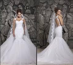 cheap wedding dresses for sale cheap in stock berta sheer back mermaid wedding dresses