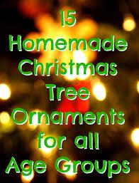 15 tree ornaments handmade tree