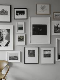 Pinterest Photo Wall by Beautiful Black And White Picture Wall On A Light Grey Wall