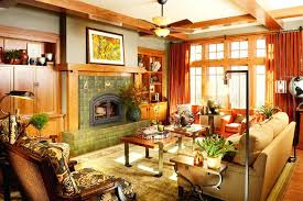 Arts And Crafts Home Interiors Arts And Crafts Style Decorating Kitchen Cabinet Craftsman Style