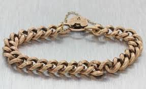 charm bracelet gold vintage images Vintage bracelets JPG