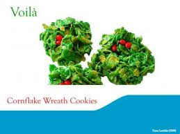 christsmas green cornflake wreath cookie recipe youtube