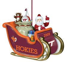 2009 annual virginia tech hokies ornament the danbury mint