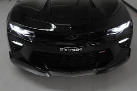 2016 chevy camaro ss chevy camaro 2016 2017 ss front splitter painted black
