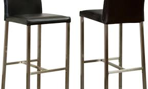 Black Swivel Bar Stool Bar Dazzling White Leather Bar Stools With Black Wooden Legs And