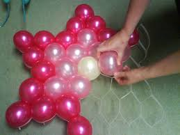 decoration with balloons party favors ideas