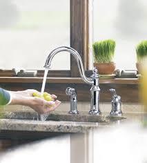 Moen Waterhill Kitchen Faucet Moen Showhouse S711 Waterhill Single Handle Kitchen Faucet With