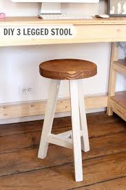 Woodworking Stool Plans For Free by Three Legged Stool Plans Woodwork City Free Woodworking Plans