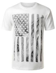 Faded American Flag Faded American Flag Graphic Cotton T Shirt Walmart Com