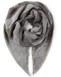 john varvatos american flag printed scarf in black for men lyst