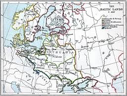 Baltic States Map Historical Maps Of Scandinavia
