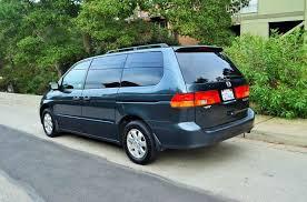 2003 honda odyssey minivan 2003 honda odyssey ex l 4dr mini w leather in belmont ca