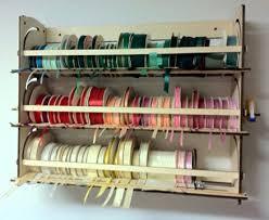 ribbon dispenser ribbon holder shelf organizer storage rack dispenser
