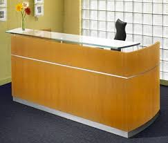 Reception Desk With Glass Display Office Furniture Reception Desk Furniture Home Decor