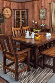reclaimed barnwood dining