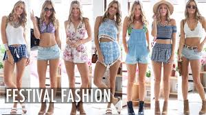 what to wear to a festival youtube